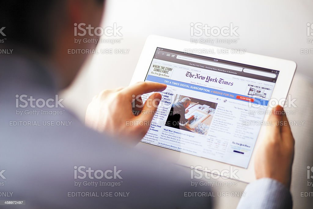 The New York Times royalty-free stock photo