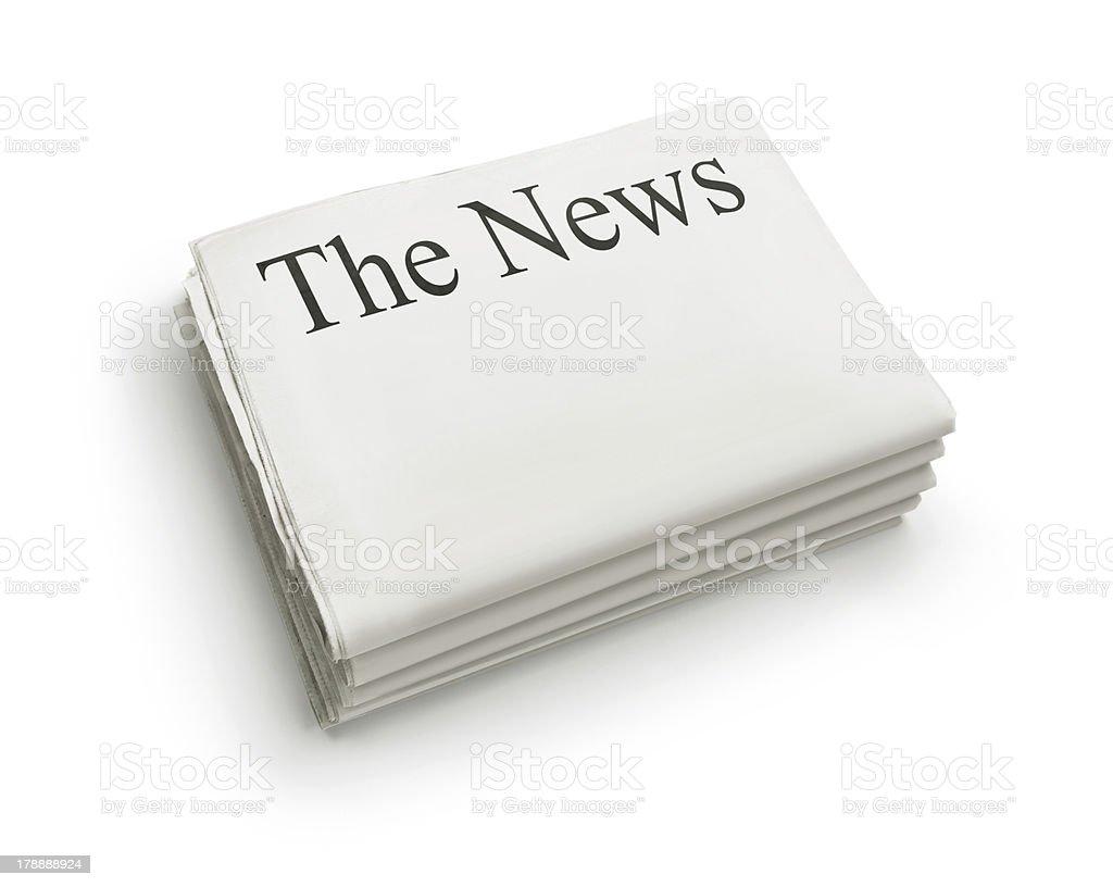 The News stock photo