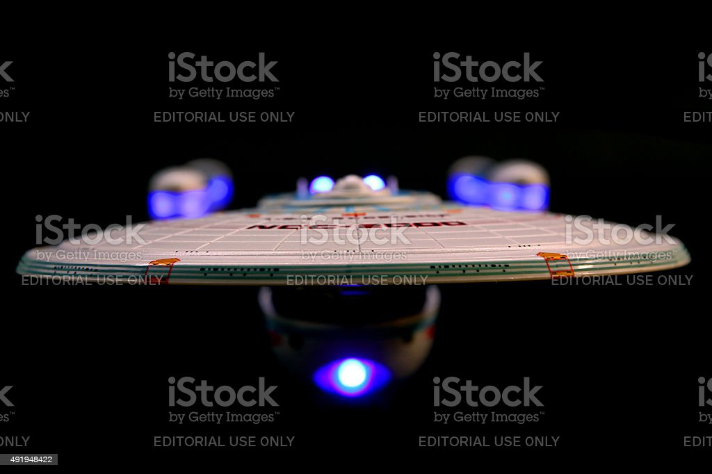 The Next Generation of Starships stock photo
