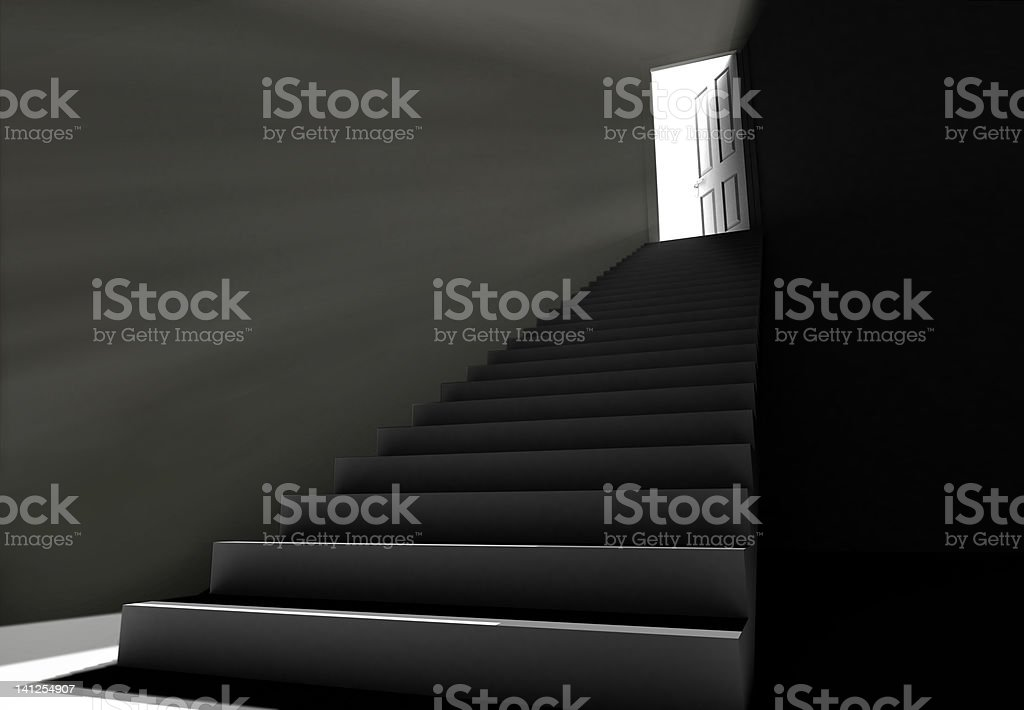 the next step stock photo
