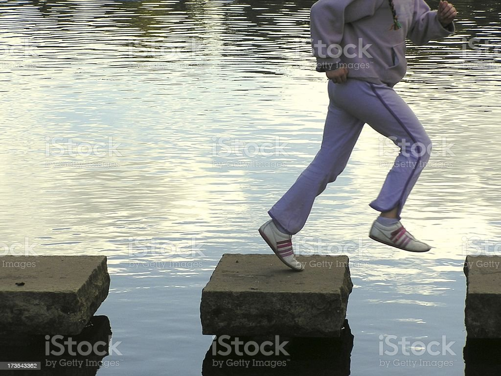 The next step royalty-free stock photo