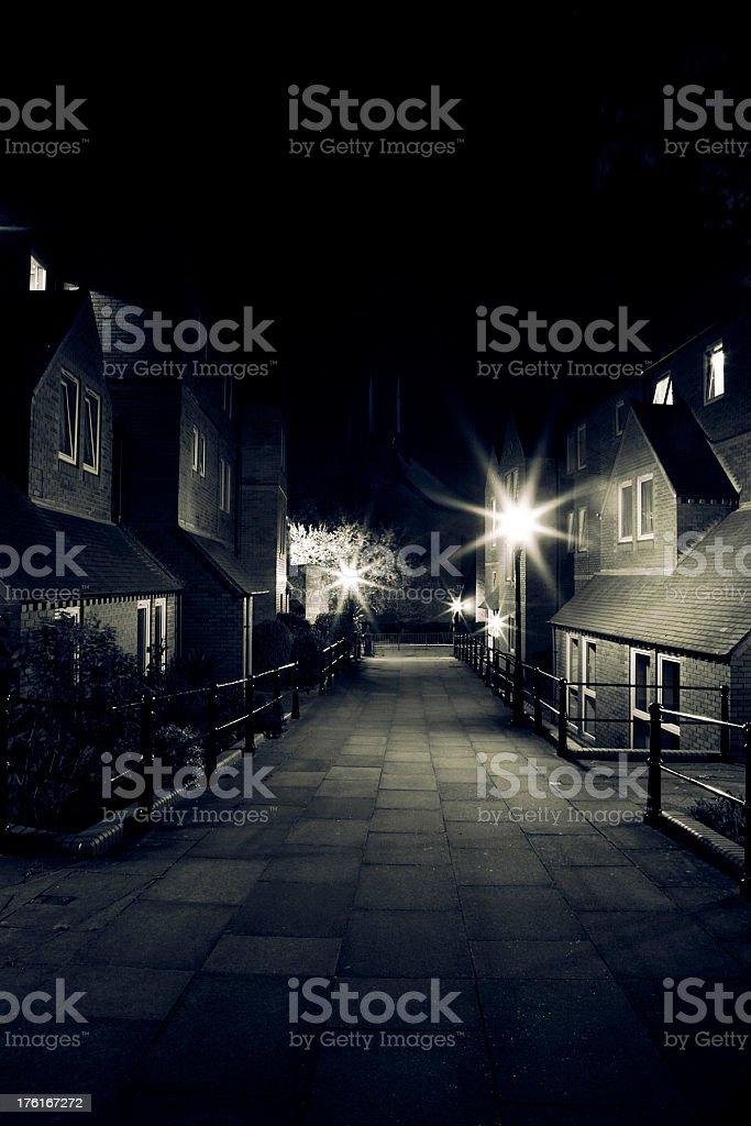 The night city royalty-free stock photo