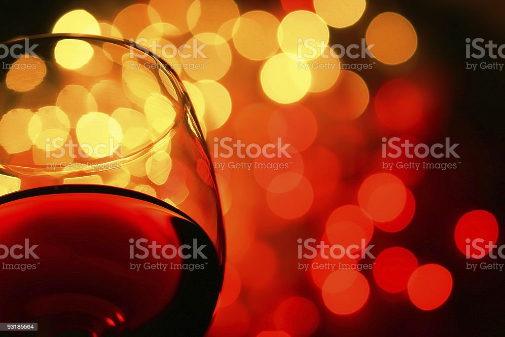 the night is young stock photo
