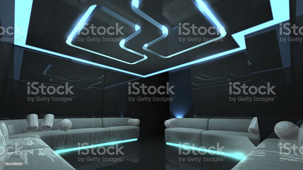 the Nightclub for any luxury concept royalty-free stock photo