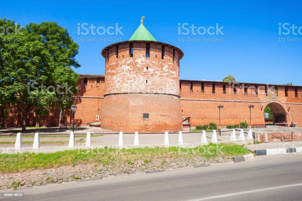 The Nizhny Novgorod Kremlin stock photo