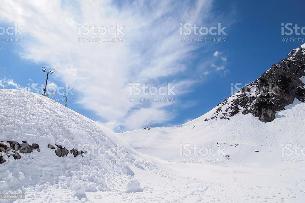 The Nordkette, the Karwendel Nature Park stock photo