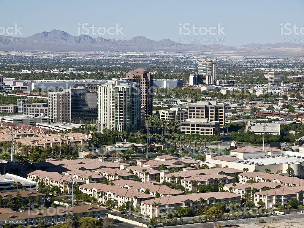 The Normal Side of Vegas stock photo