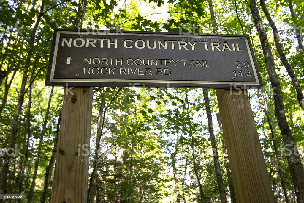 The North Country Trail stock photo