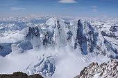 the north face of Liskamm near Zermatt