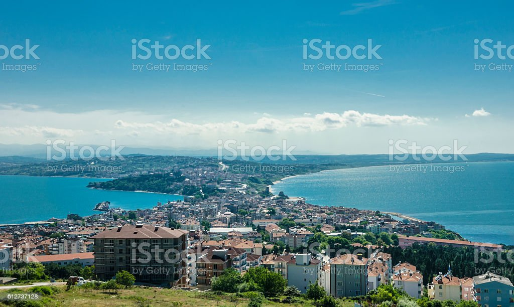 The northernmost city of Turkey; Sinop. stock photo