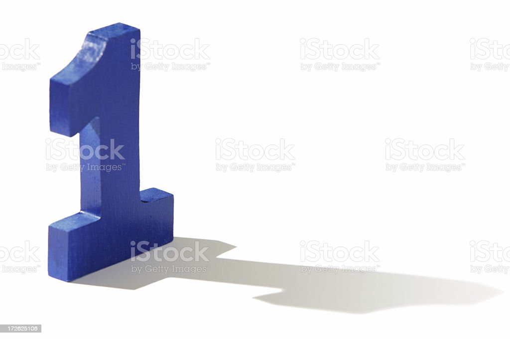 the number one royalty-free stock photo