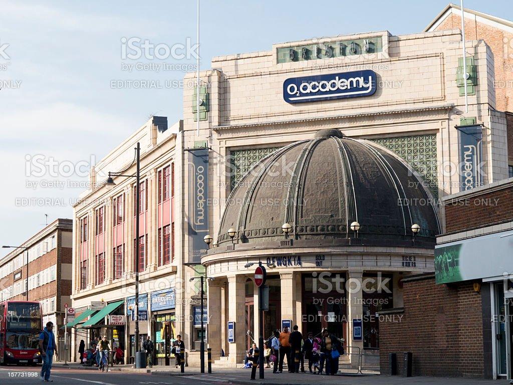 The O2 Academy Venue in Brixton London stock photo