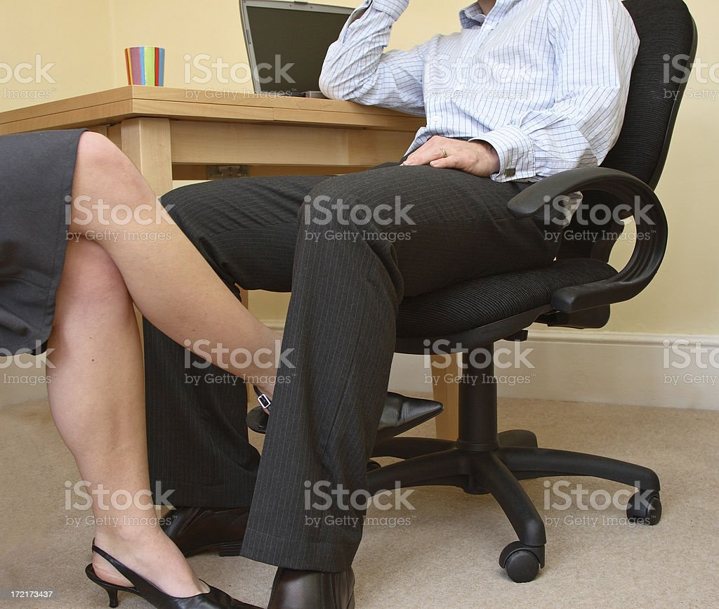 The Office Affair royalty-free stock photo