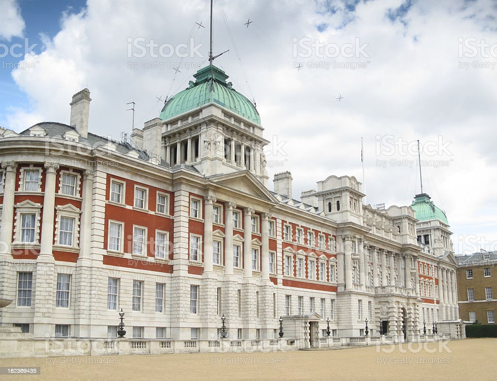 The Old Admiralty building (extension), London. royalty-free stock photo