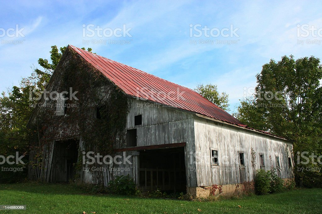 The old barn royalty-free stock photo