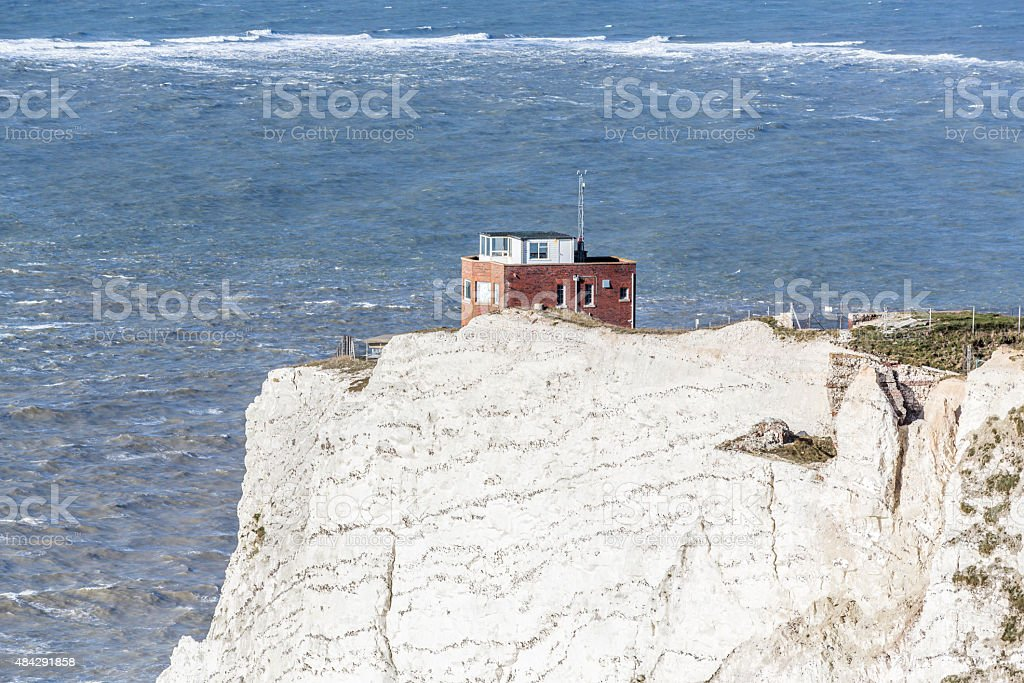 The Old Battery, Needles Country Park, Isle of Wight, UK stock photo