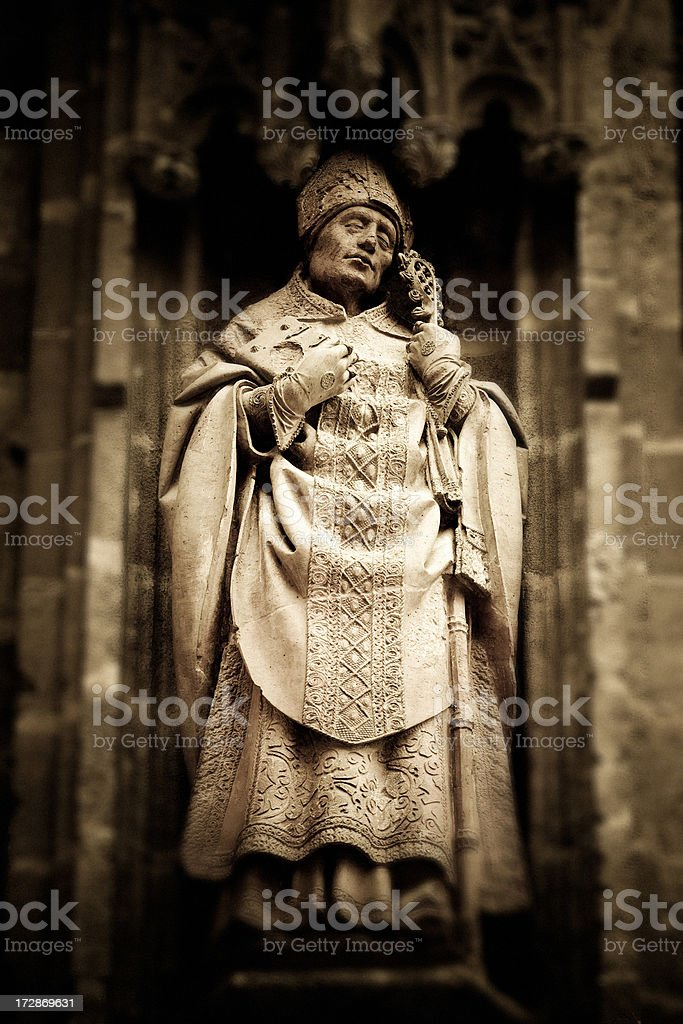 The old bishop royalty-free stock photo
