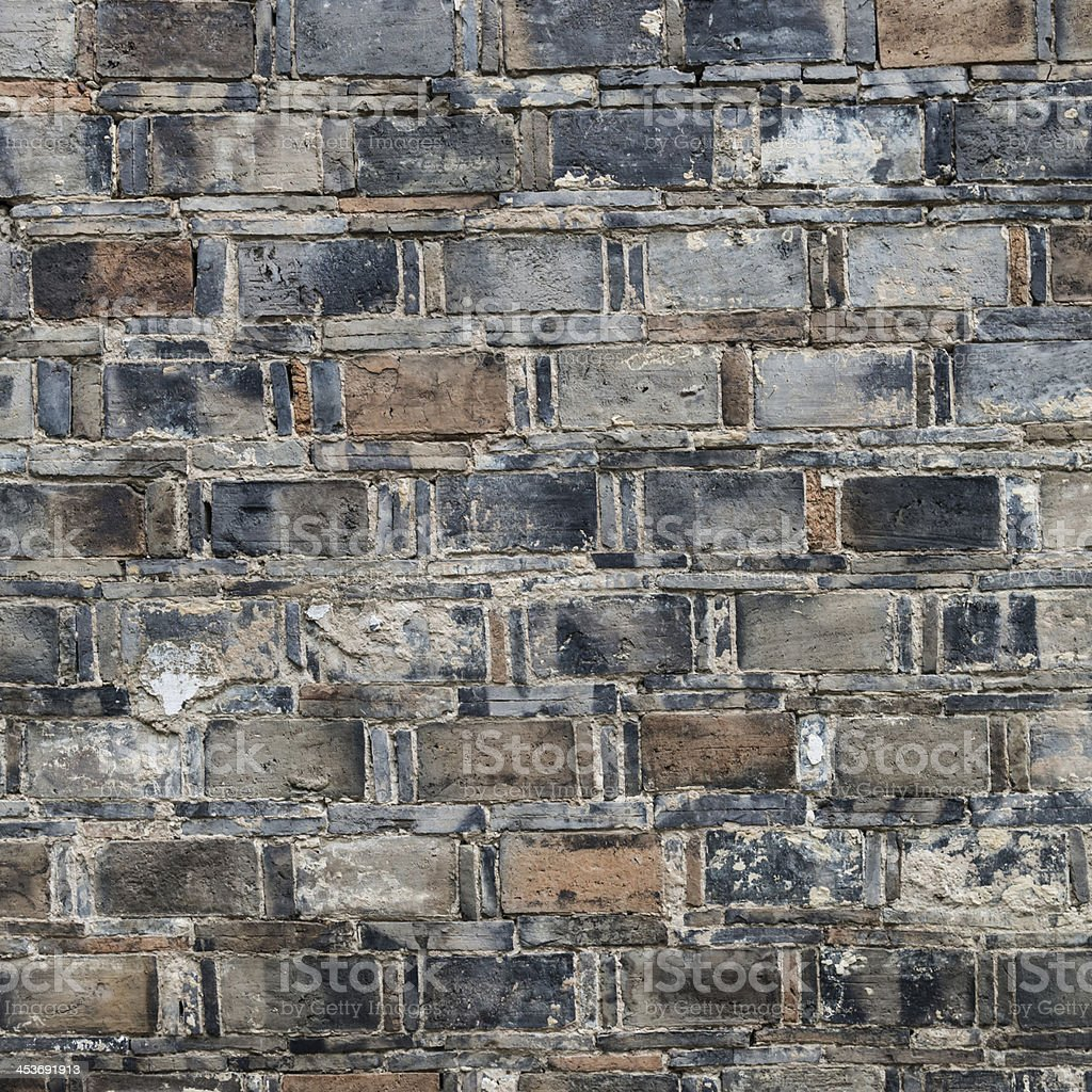 The old brick wall stock photo
