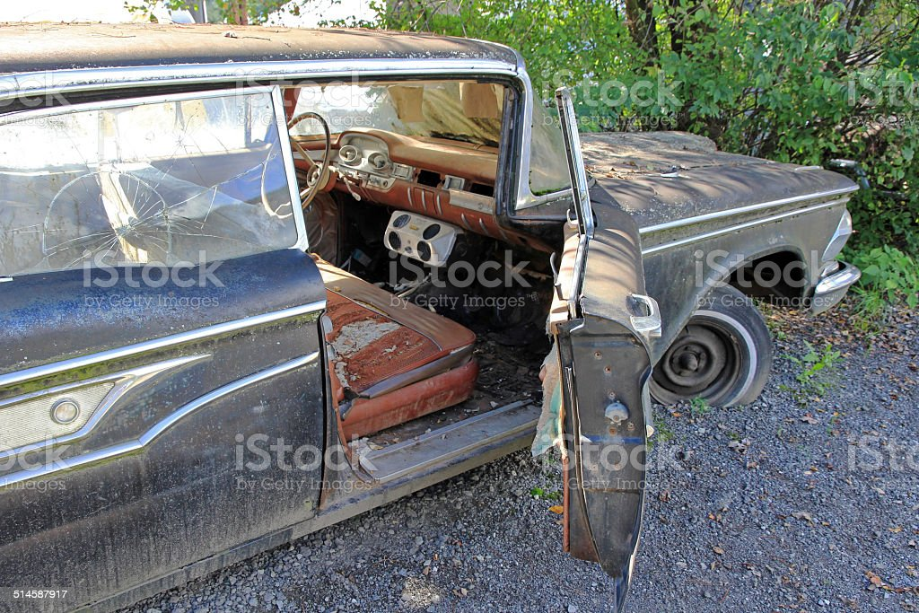 the old car stock photo