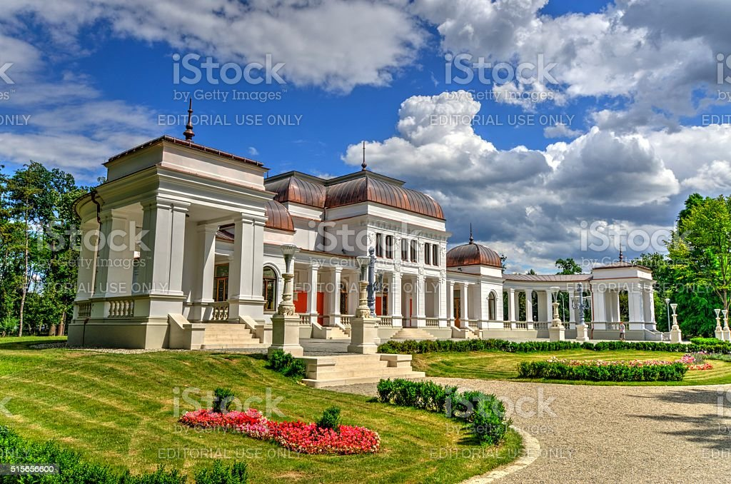 The Old Casino of Cluj-Napoca - HDR Image stock photo