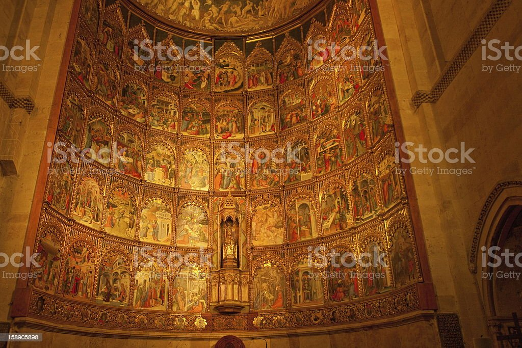 The Old Cathedral - Salamanca royalty-free stock photo