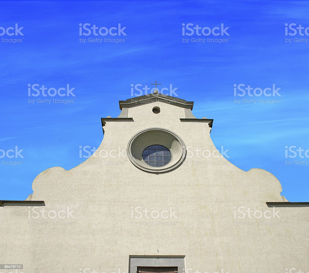 the old church royalty-free stock photo