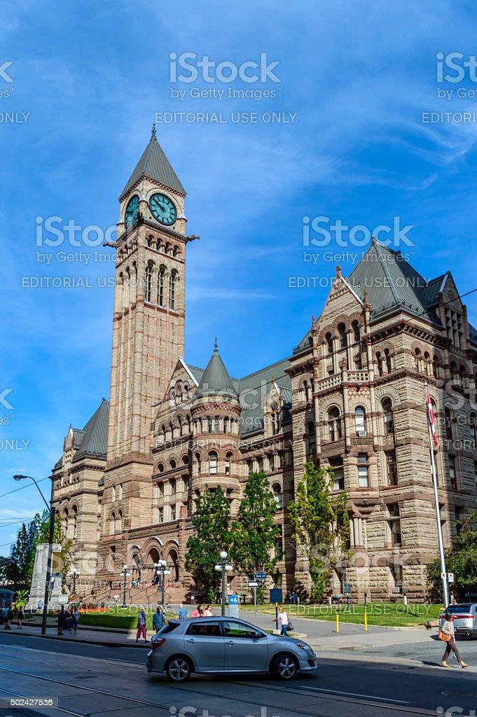 The Old City Hall of Toronto stock photo