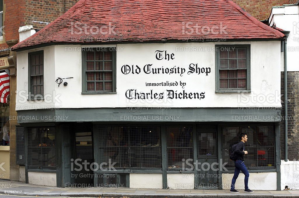 The Old Curiosity Shop stock photo