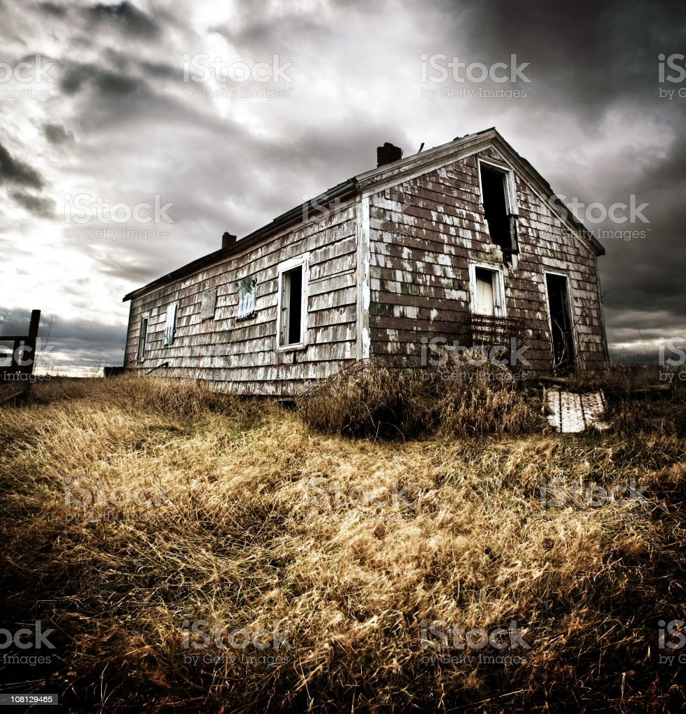 The Old Farm House royalty-free stock photo
