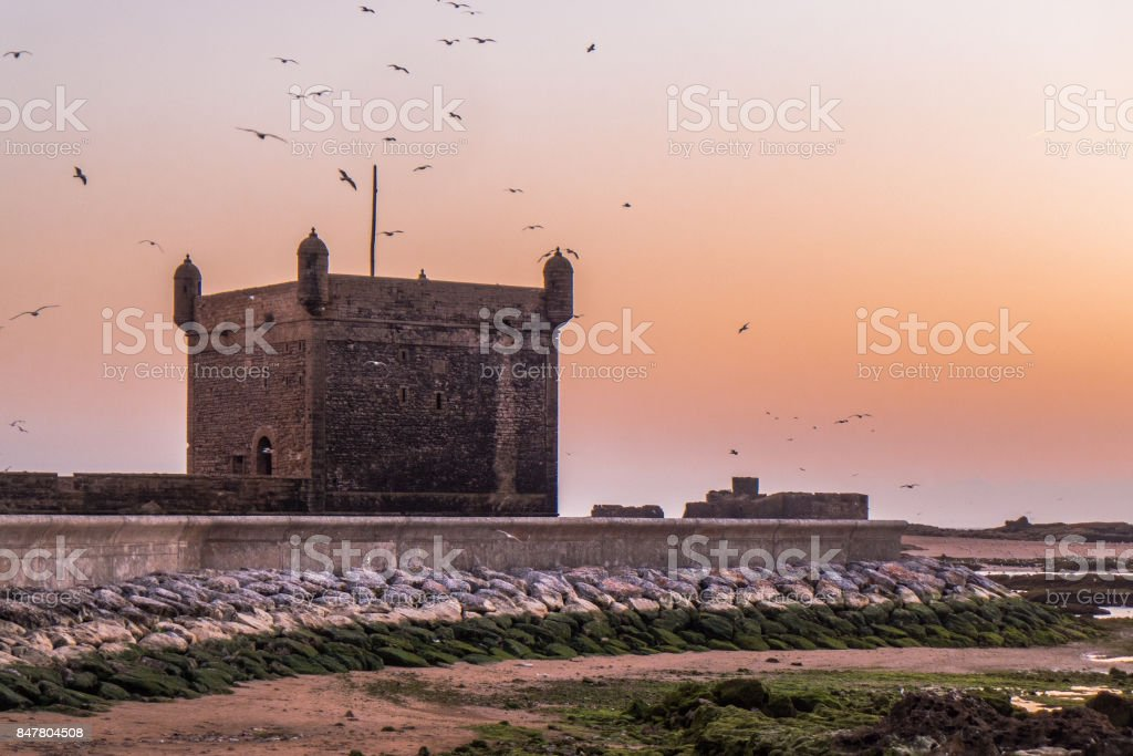 The old fort of Essaouira stock photo