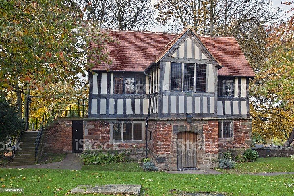 The Old Grammar School - Birmingham royalty-free stock photo