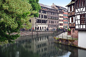 The old half-timbered houses of Strasbourg