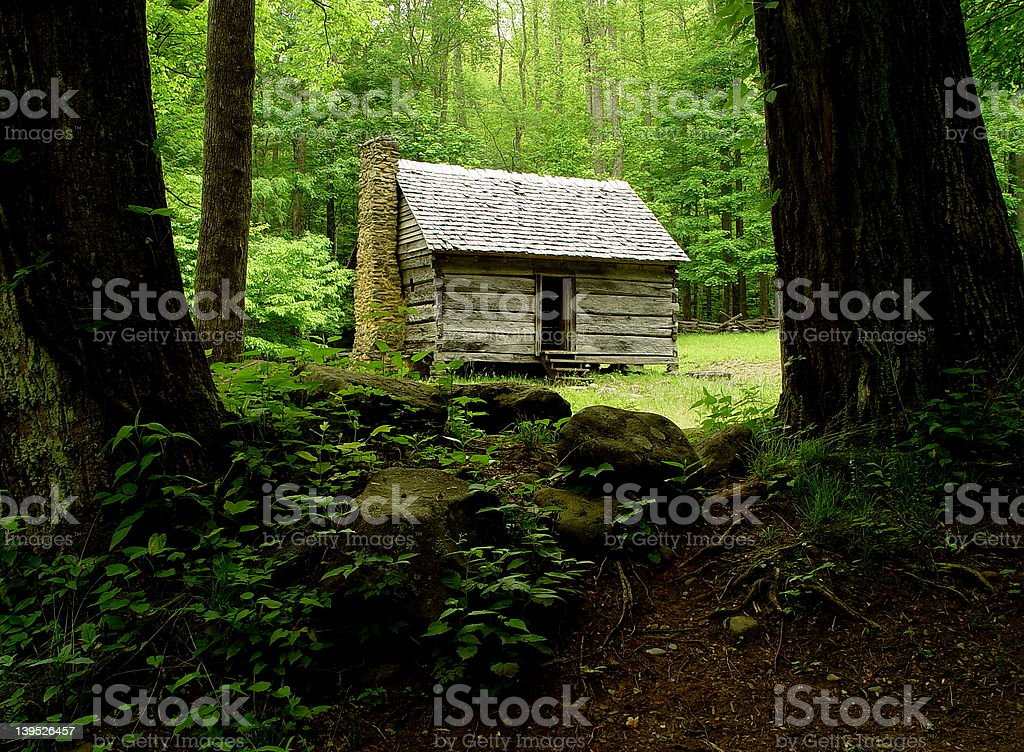 The Old House. royalty-free stock photo