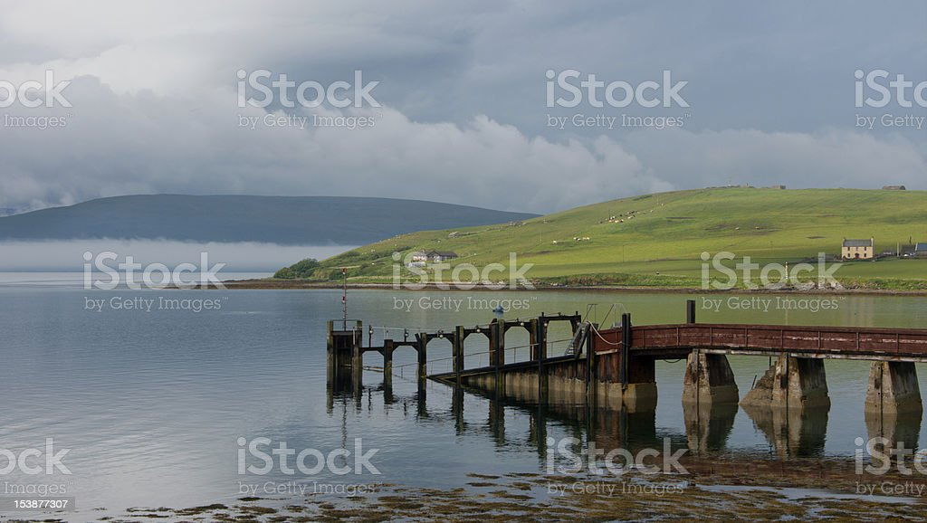 The Old Jetty stock photo