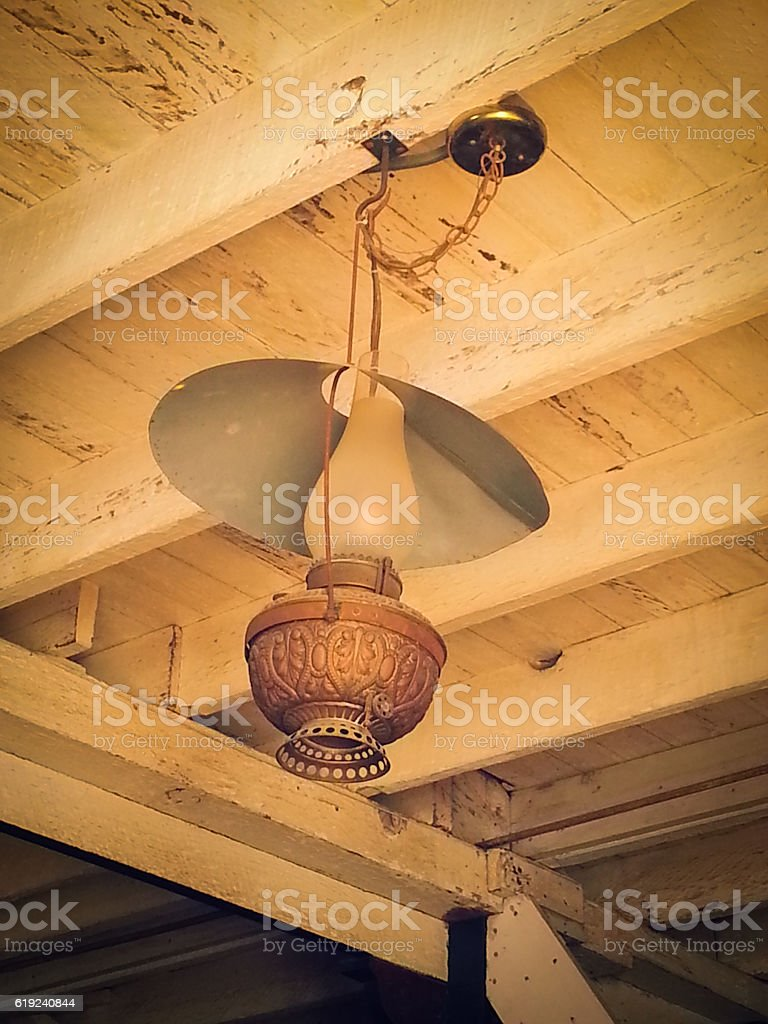 The Old Lamp stock photo