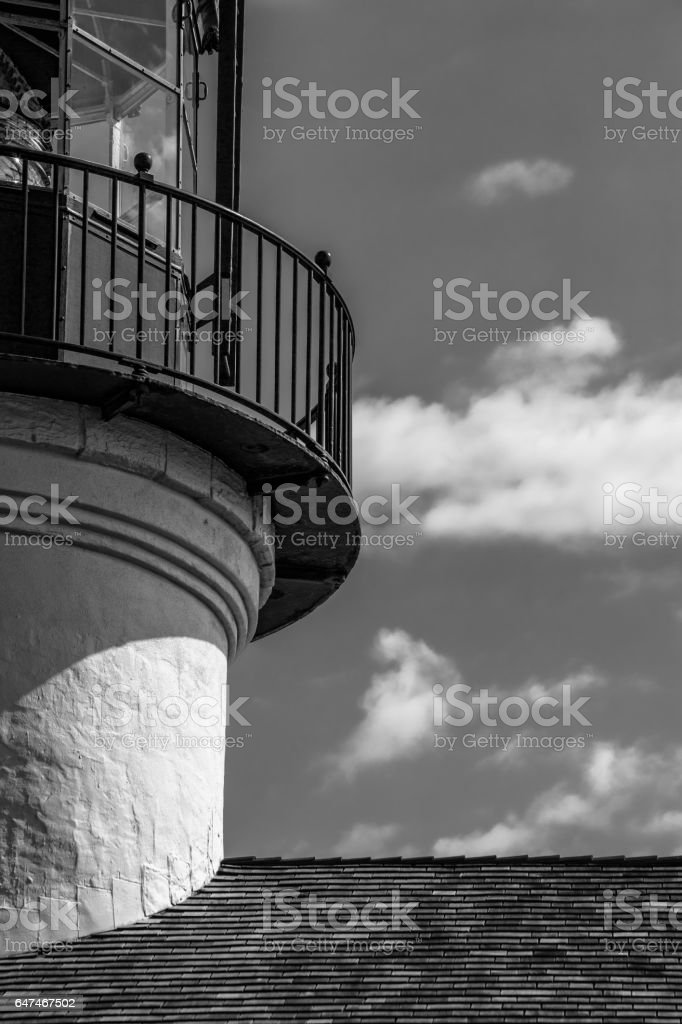 The Old Light stock photo