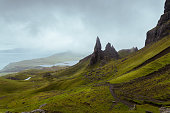 The Old Man of Storr on Isle of Skye