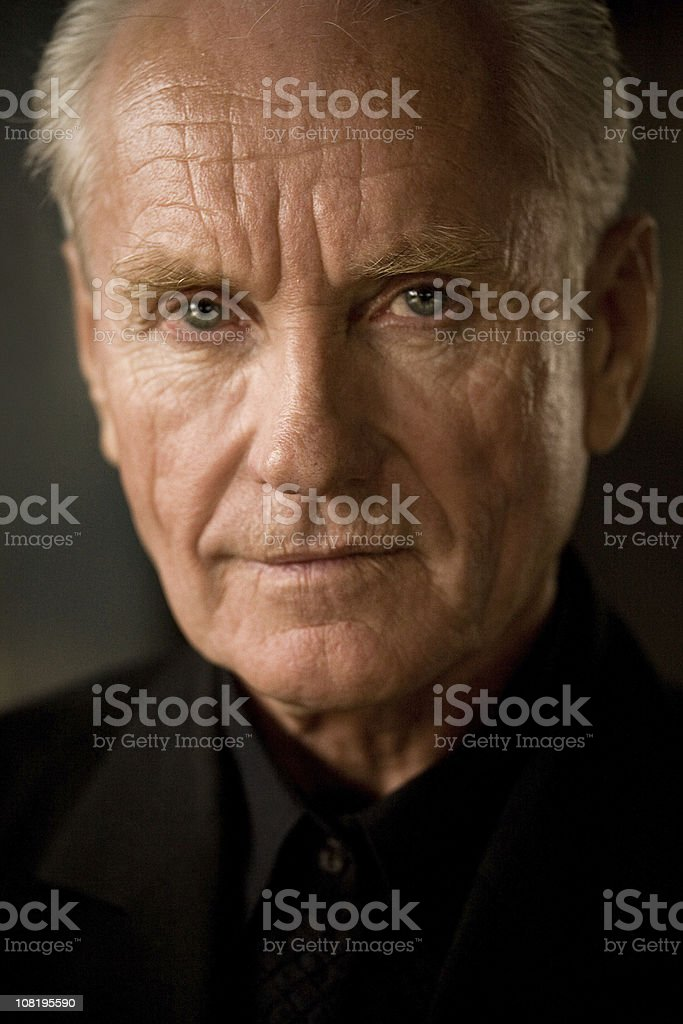 the old man stock photo