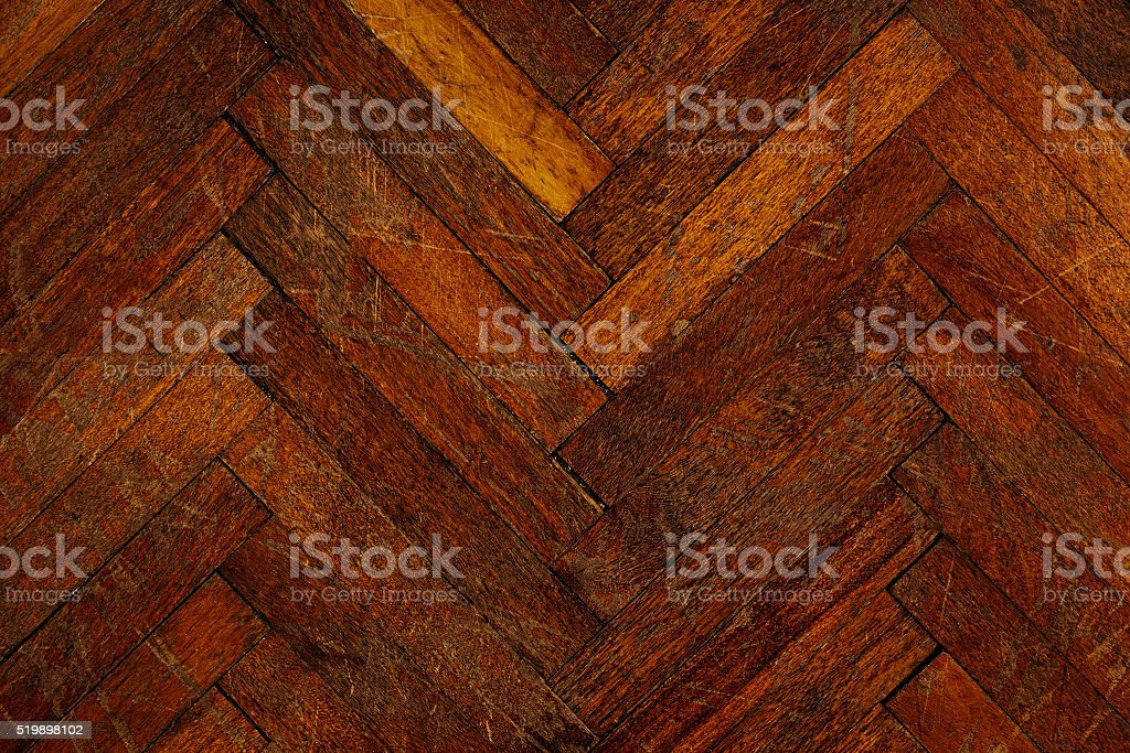 The old parquet. The background. stock photo