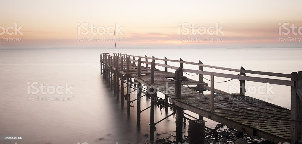 The Old Pier stock photo