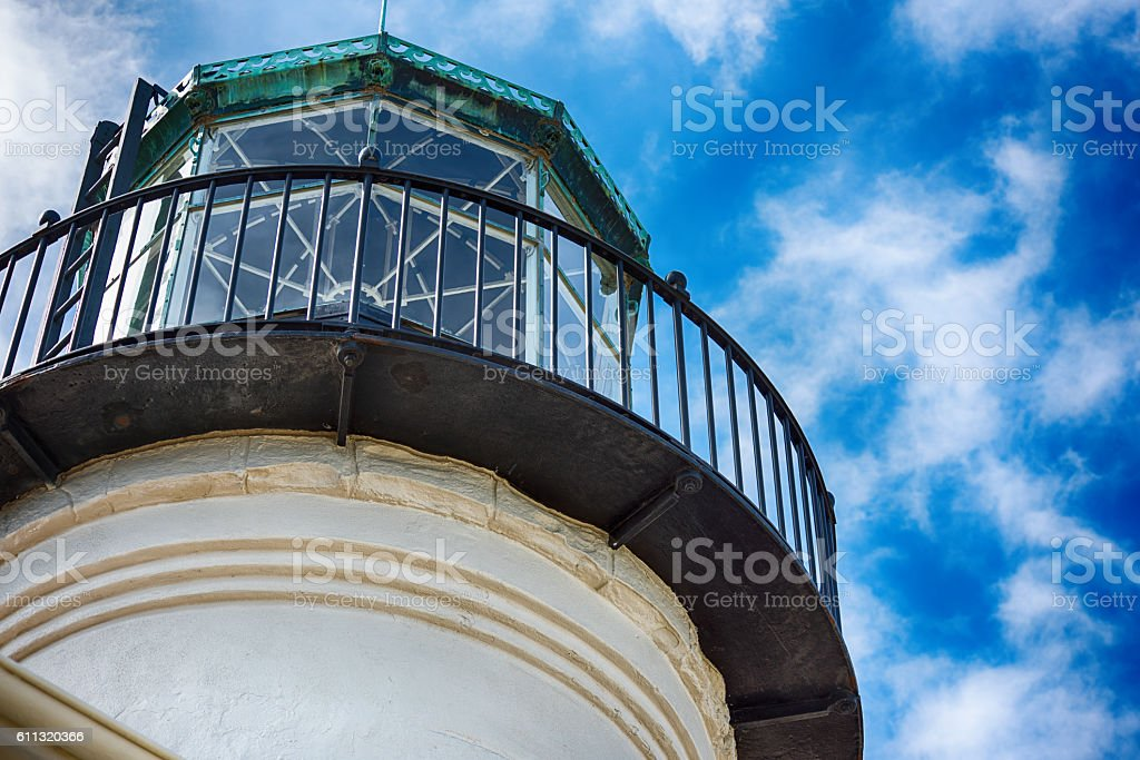The Old Point Loma Lighthouse - San Diego stock photo