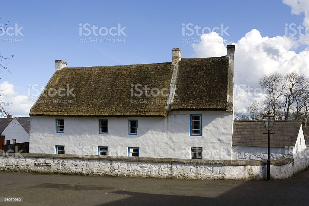 The Old Rectory stock photo