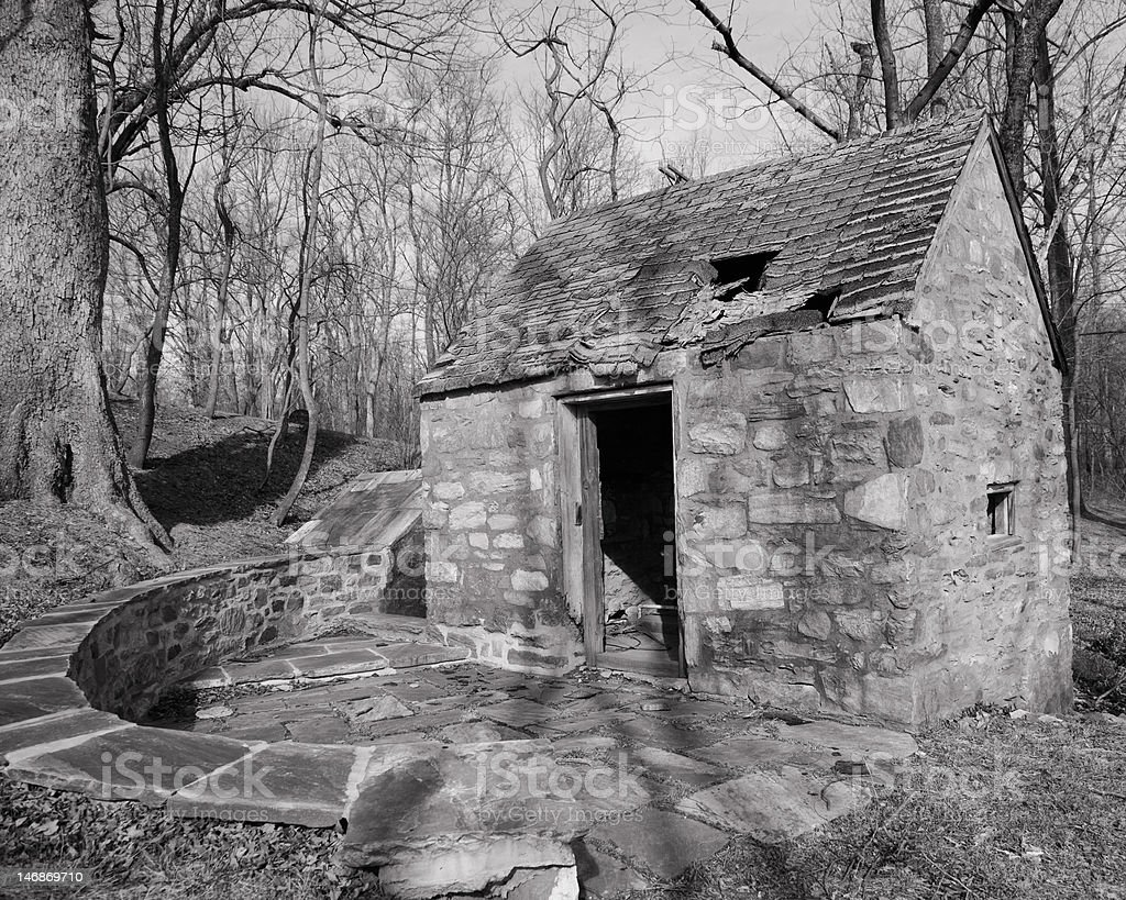The Old Spring House stock photo