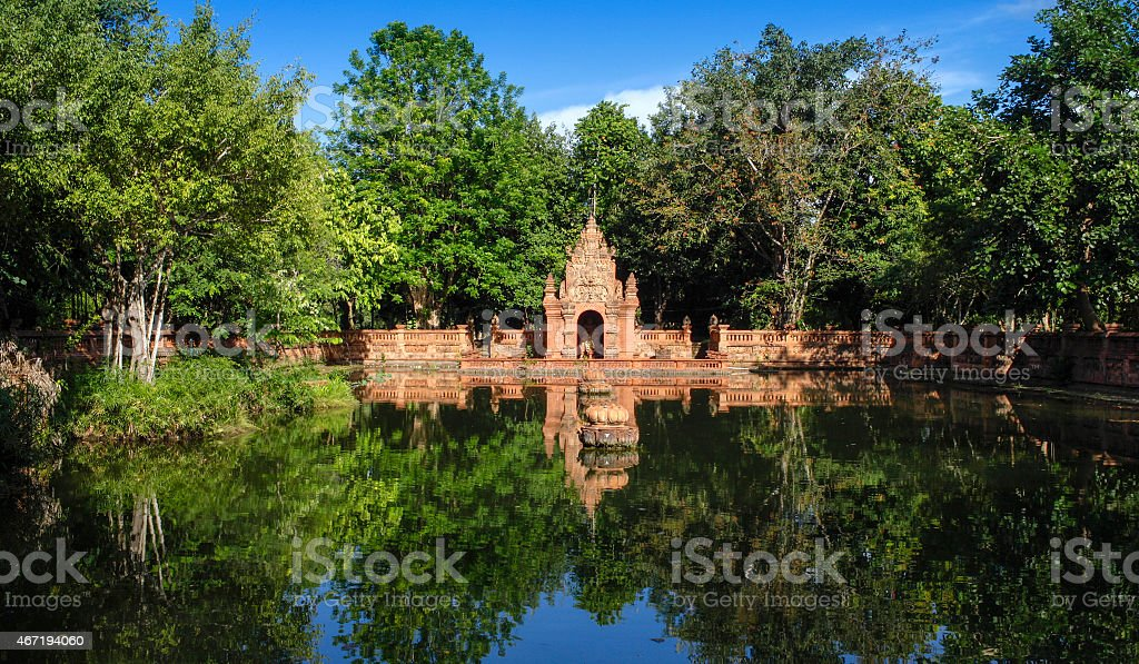 The old thai styl architecture royalty-free stock photo