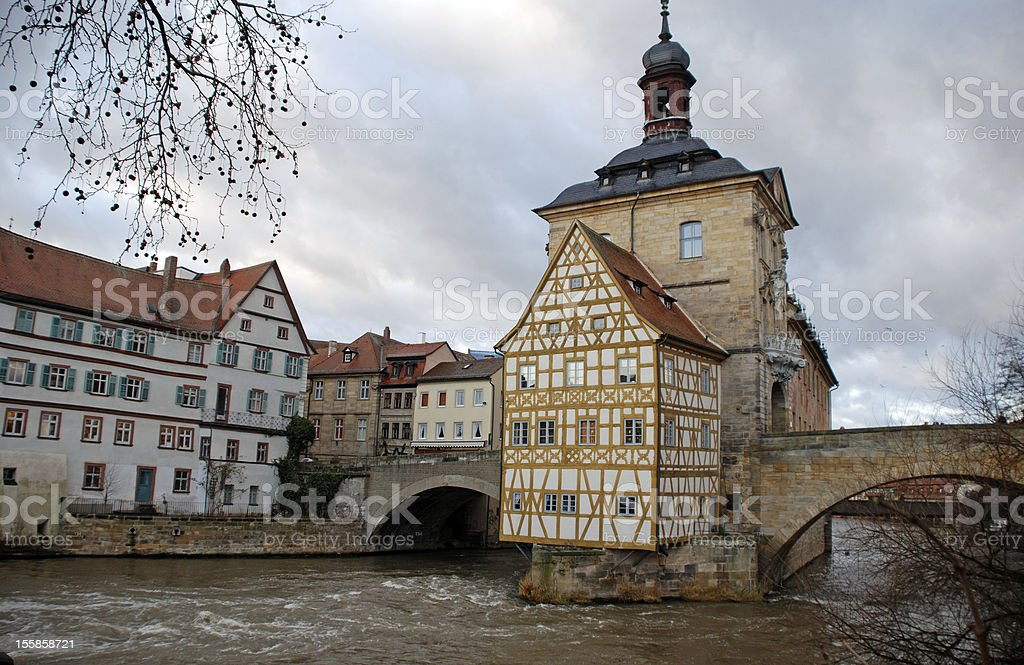 The Old Town Hall in Bamberg(Germany) royalty-free stock photo