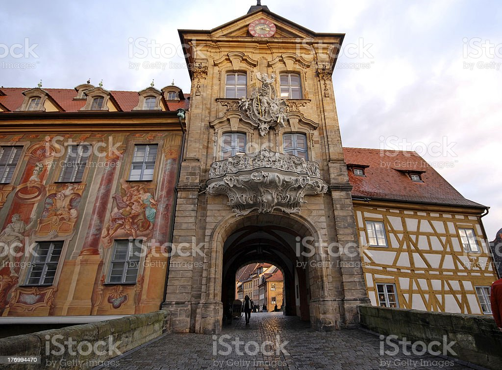 The Old Town Hall in Bamberg(Germany) stock photo