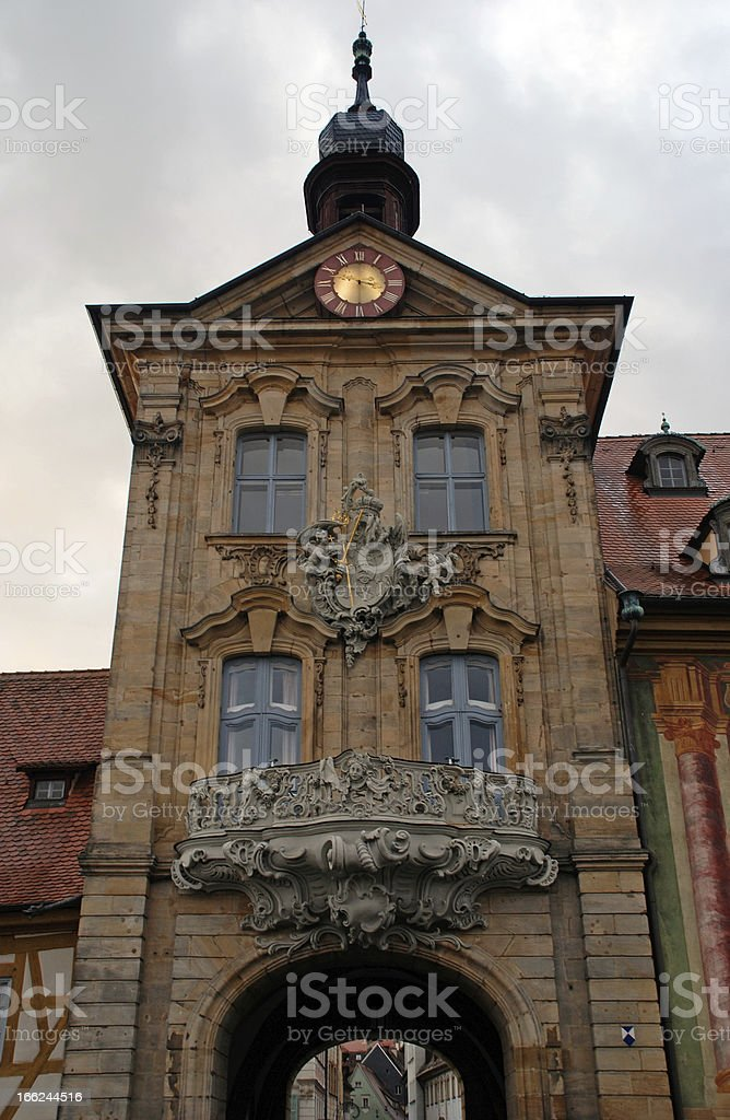 The Old Town of Bamberg, Germany, UNESCO World Heritage. royalty-free stock photo