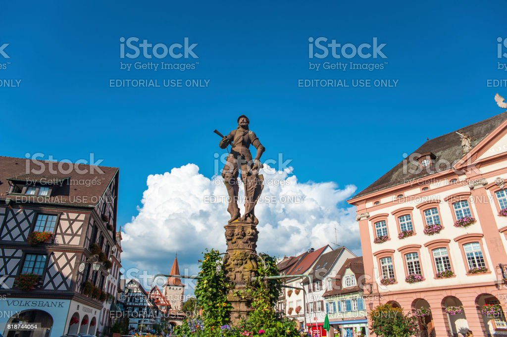 The old town of Gengenbach stock photo