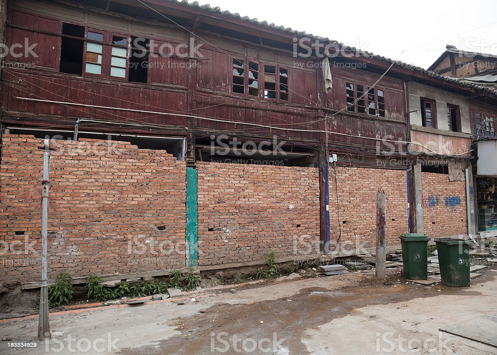 The old town of Kunming stock photo