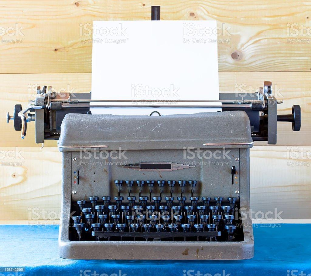 The old typewriter royalty-free stock photo